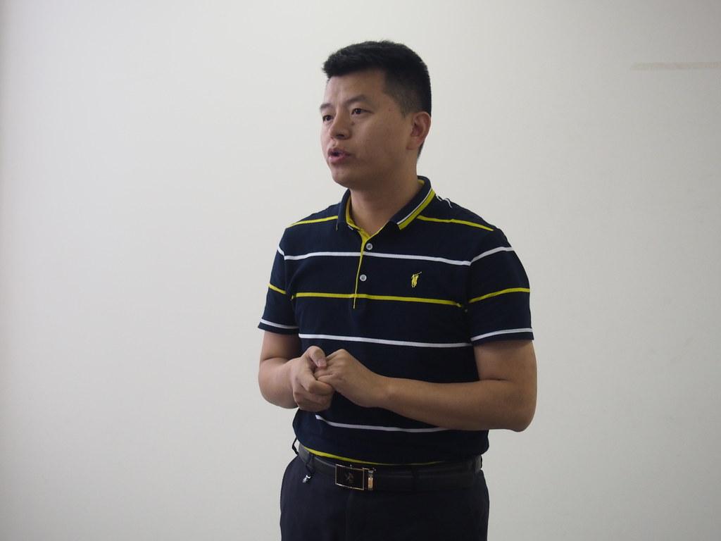 中科院雲南瀕科委司法鑒定中心首席執行官黃良華。攝影:陳宣竹
