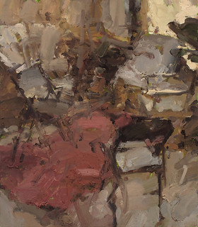 Interior with Five Chairs IX by Jordan Wolfson