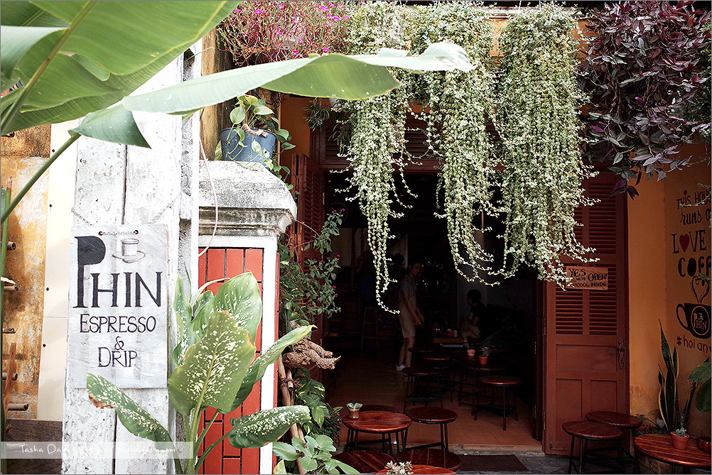 會安自由行︱Phin Coffee.古鎮巷弄內的風情咖啡館