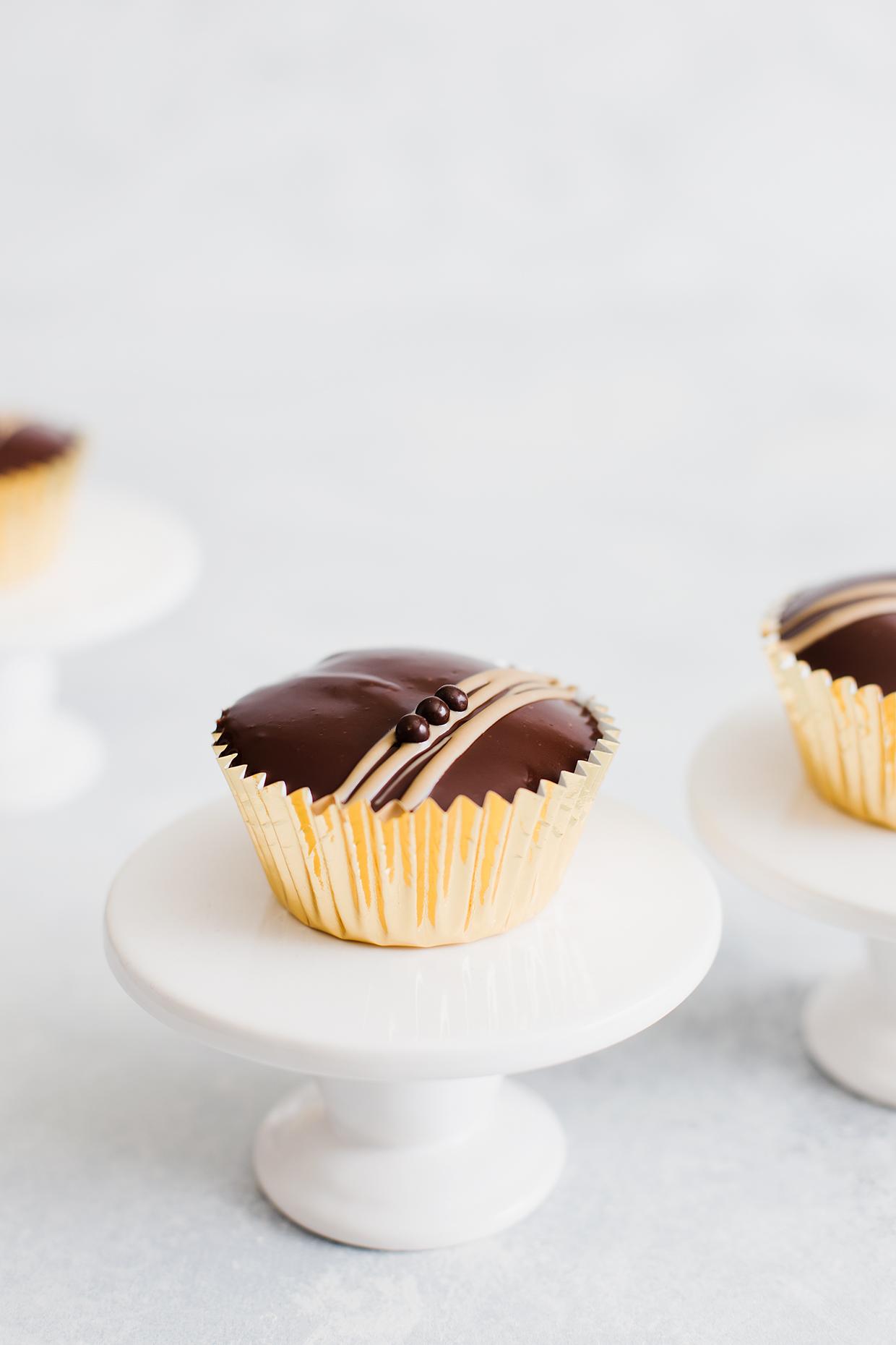 Pumpkin Ganache Cupcakes