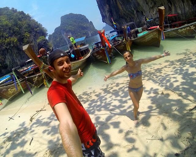 Excursión a las islas Koh Hong en Tailandia