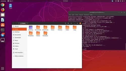 new-yaru-theme-in-ubuntu-18-10
