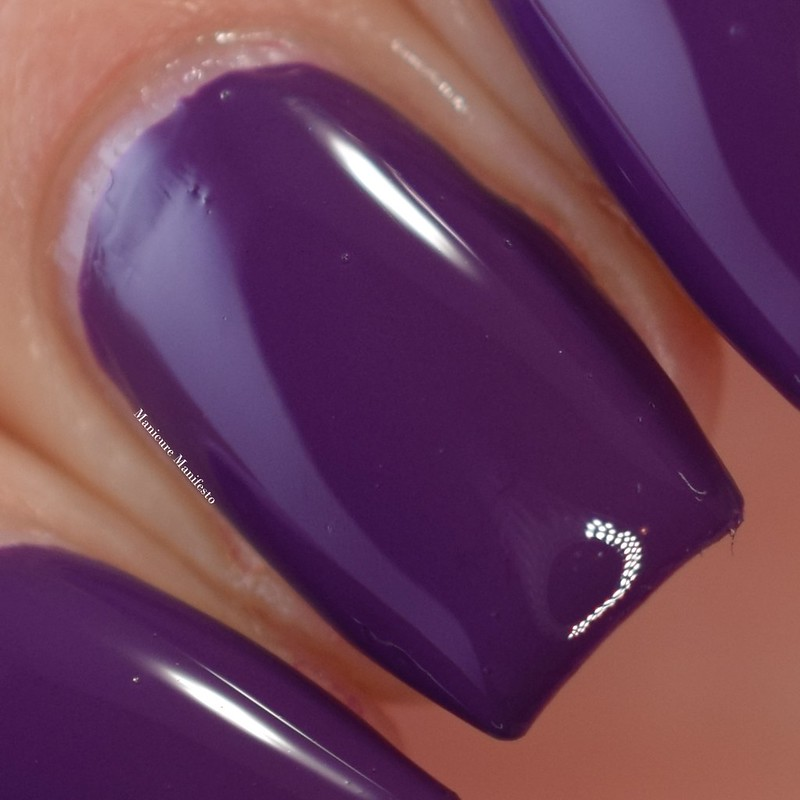 Girly Bits Eggplant One On Me swatch