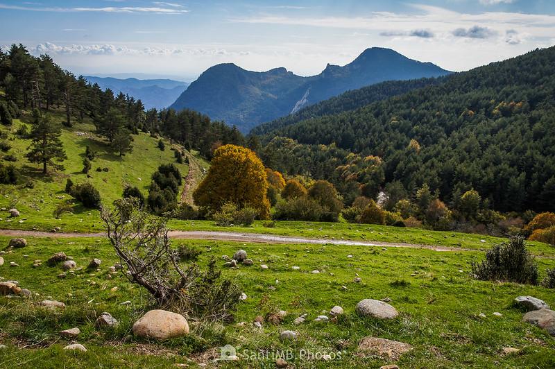 El Sobrepuny visto desde cerca de Cabanelles