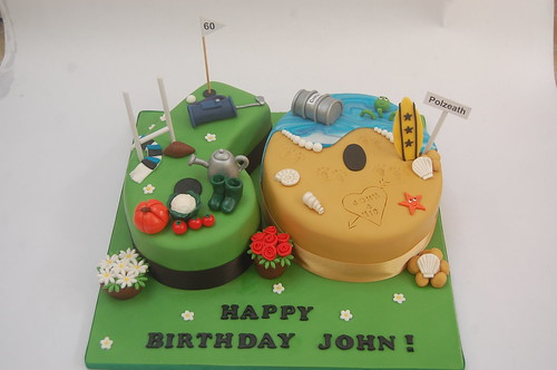 Pleasing Johns 60Th Birthday Cake Beautiful Birthday Cakes Personalised Birthday Cards Veneteletsinfo