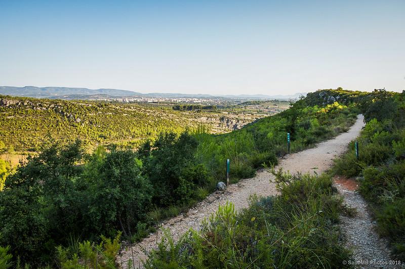 Cruce de camino a la Font de l'Alba