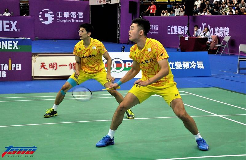 陳宏麟(左)與王齊麟。(資料照,張哲郢/攝)