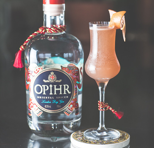 Serife, the winning cocktail from Charley Carrington