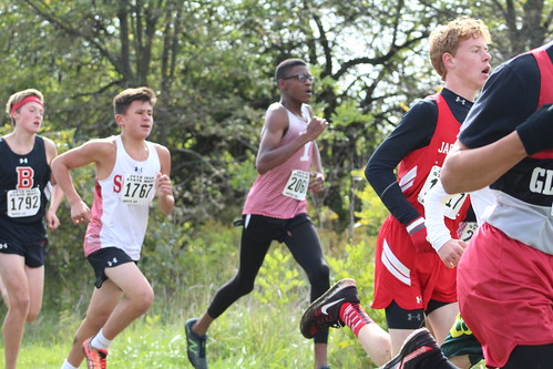 Josh Pugh Runs for Yorkville at the IESA State Cross Country Championship
