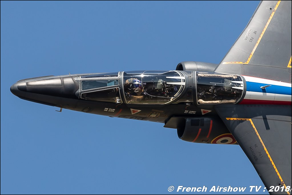 Alphajet Solo Display Meeting de l Air BA-133 Nancy Ochey 2018 FOSA Armee de l Air Canon Sigma France contemporary lens Meeting Aerien 2018