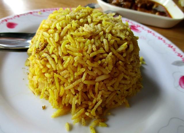 Dapur Azra nasi Arab, rice