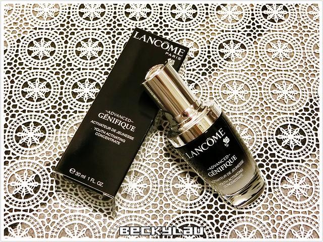 【精華】妳值得擁有的「小黑瓶」~Lancôme Advanced Génifique升級版嫩肌活膚精華 .. ...