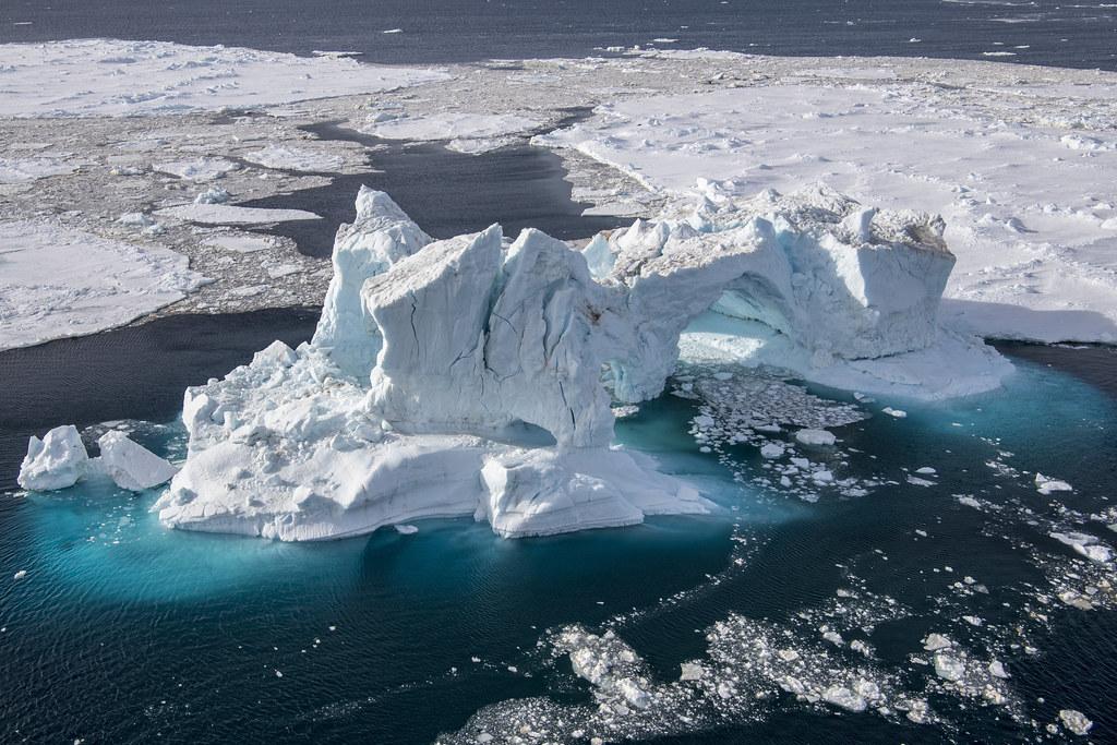 威德爾海域。圖片來源:綠色和平