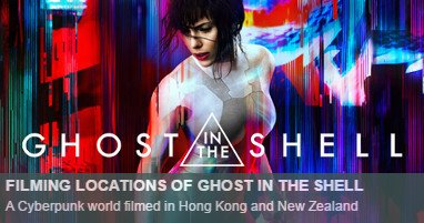 Dónde se rodó Ghost in the Shell