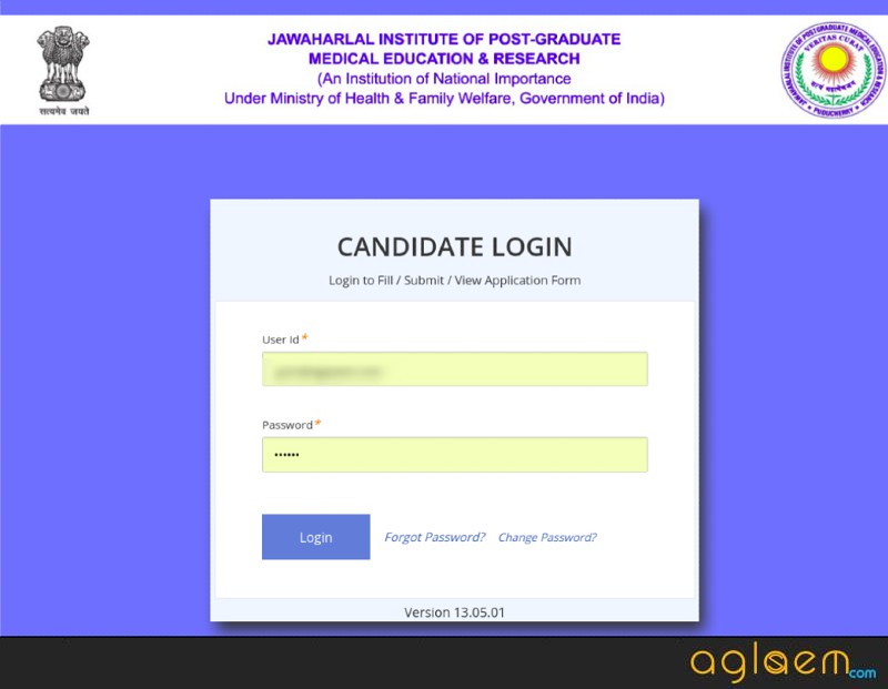 JIPMER PG 2019 Admit Card