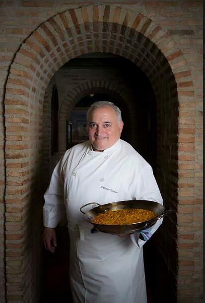 Antonio Cosmen la Paella de Madrid