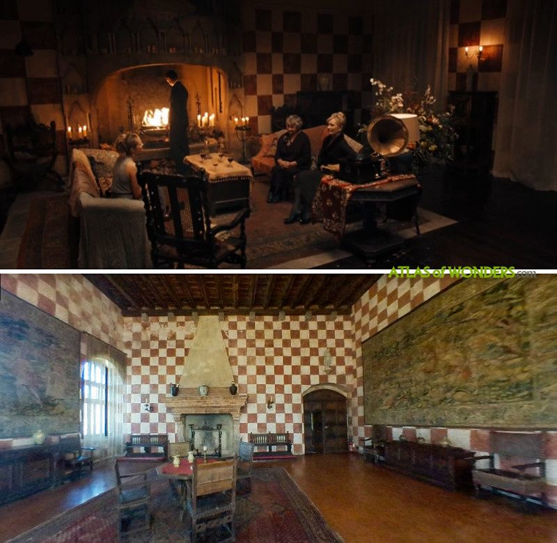 The vampire family palace interiors