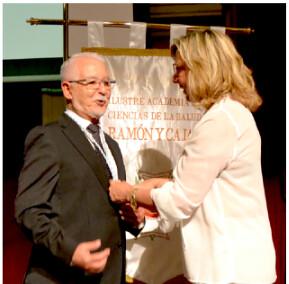 Dr. Antonio Licitra recibe el Nombramiento Académico por parte de la ilustre Academia de Ciencias de la Salud Ramón y Cajal