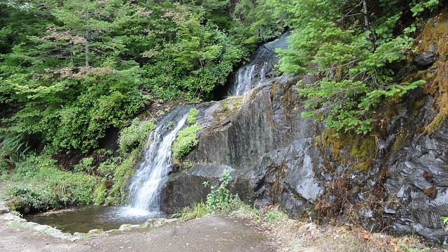 Parker Creek Falls.