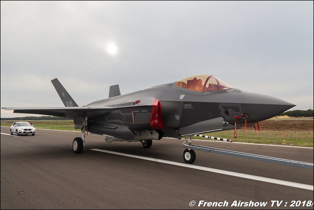 F-35 BAFDAYS Kleine-Brogel 2018 BELGIAN AIR FORCE DAYS 2018 BA Kleine Brogel Canon Sigma France contemporary lens Meeting Aerien 2018
