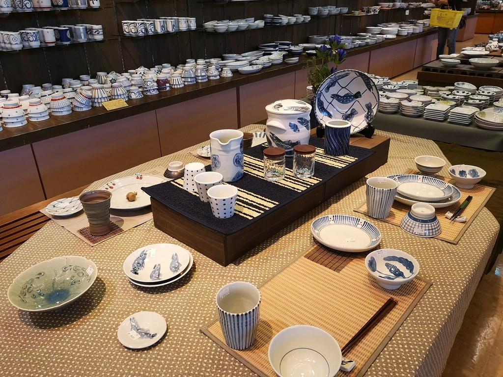 Go wild shopping for kitchen ceramics at Ennosato.