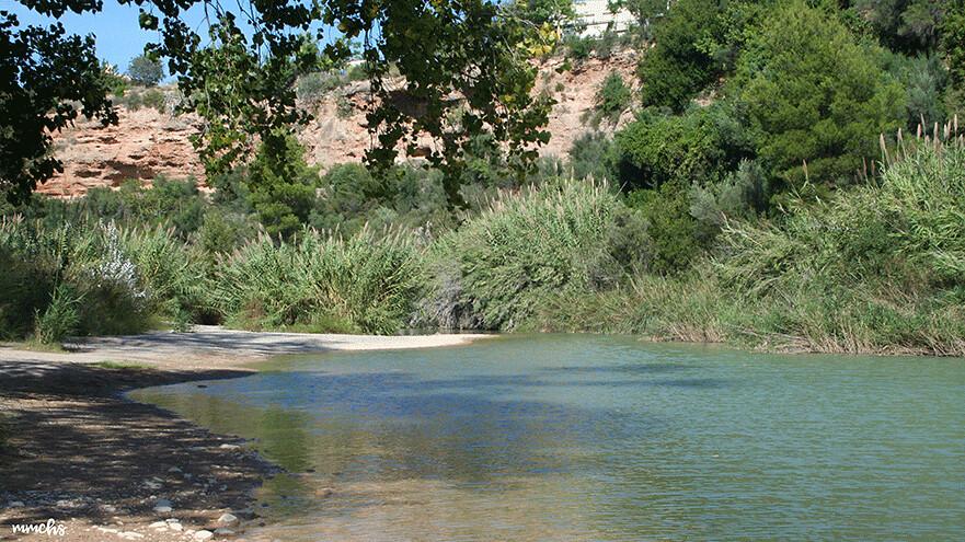 río Mijares ruta de Calduch Villarreal