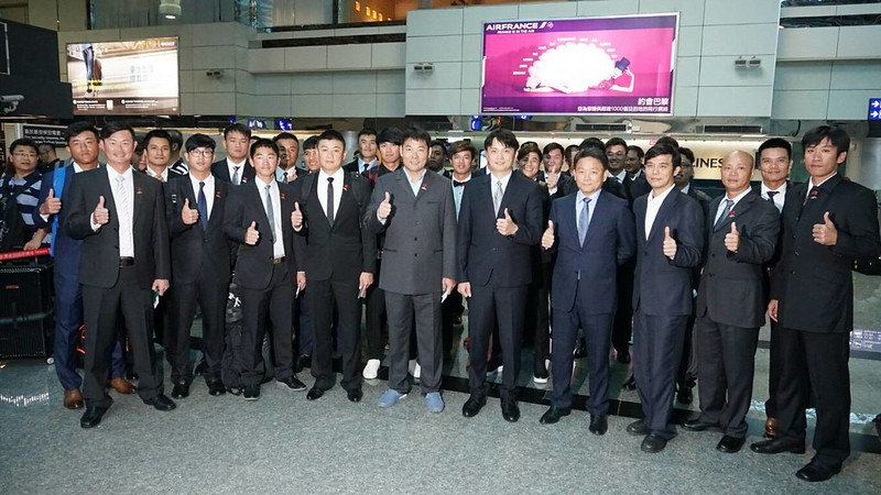 中華代表隊前往福岡參與台日交流對抗賽。(中職提供)