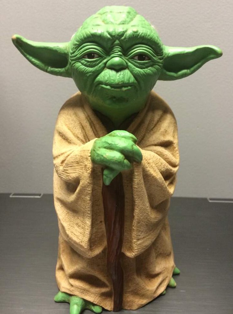Vintage Yoda Puppet Kenner 1981 I Wanted This So Bad As