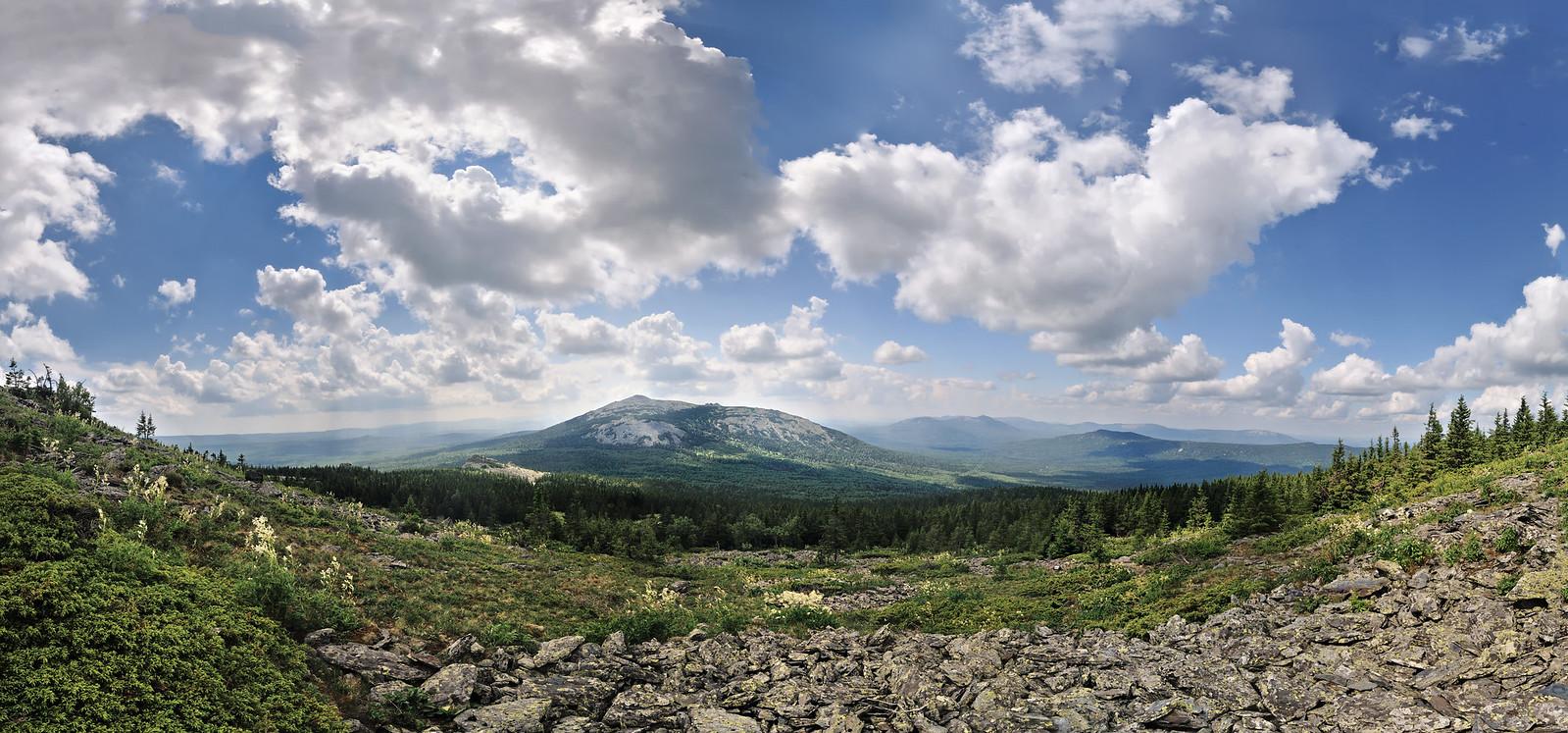 Хребёт Нургуш - самая высокая точка Челябинской области фотограф челябинск