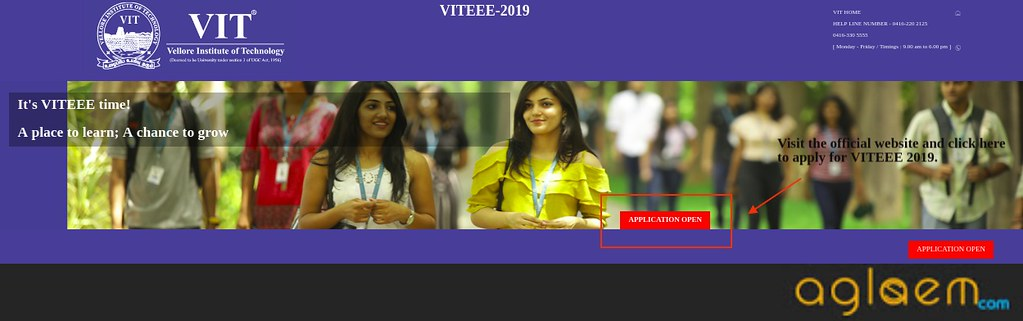 VITEEE 2019 Application Form out; Last date to apply 18 Mar 2019