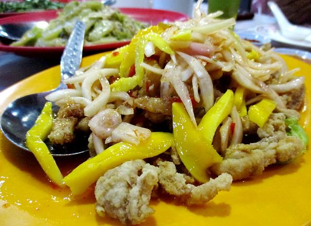Thai-style mango chicken