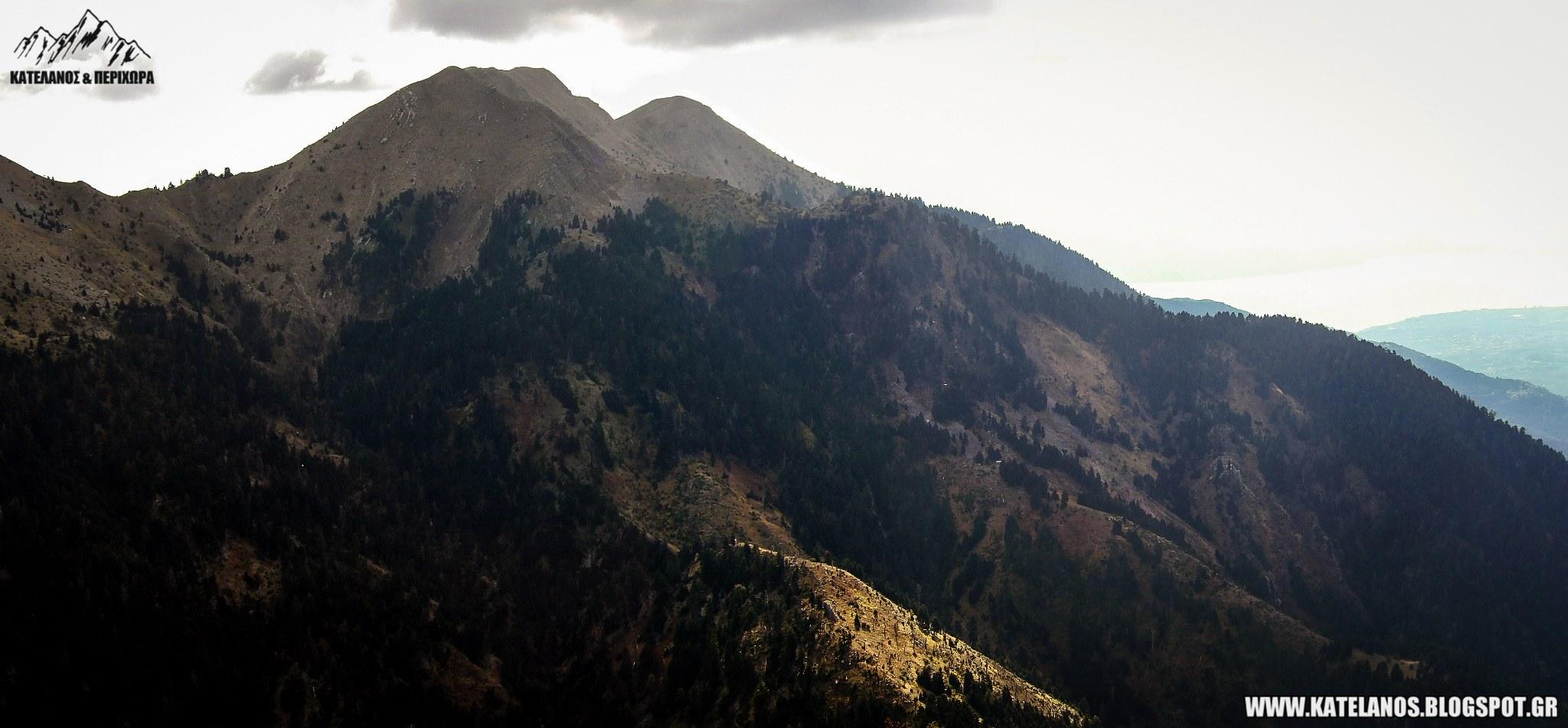 κορυφές αιτωλοακαρνανίας βουνά βγένα ζυγός κόκα