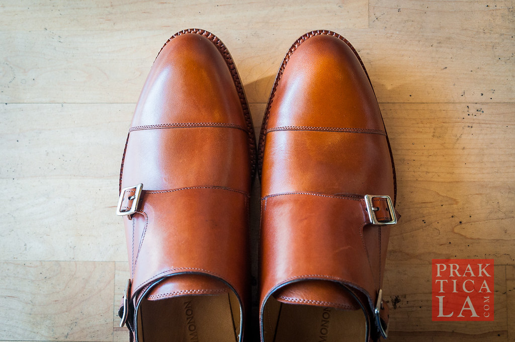 beckett simonon hoyt monk strap review