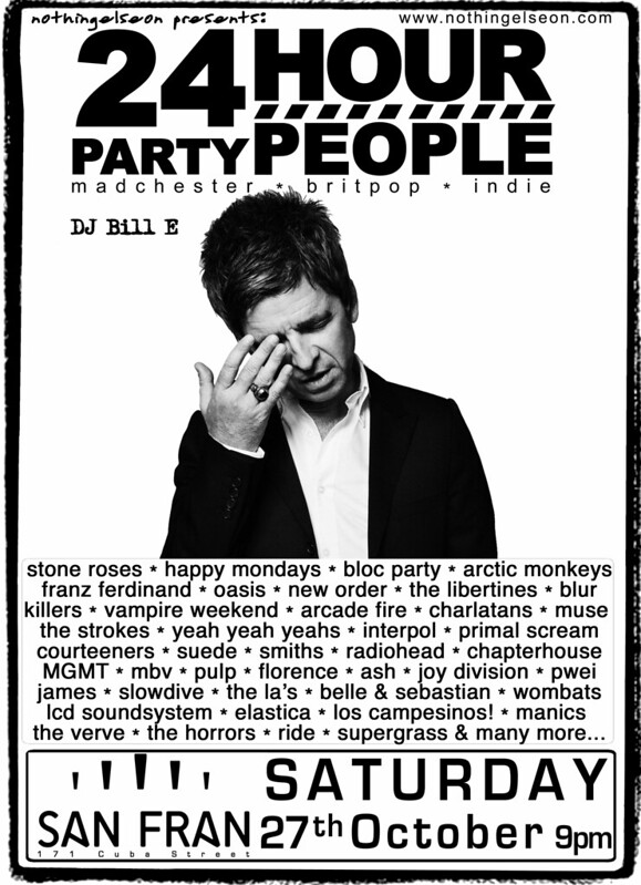 24 Hour Party People poster, 27 October 2018