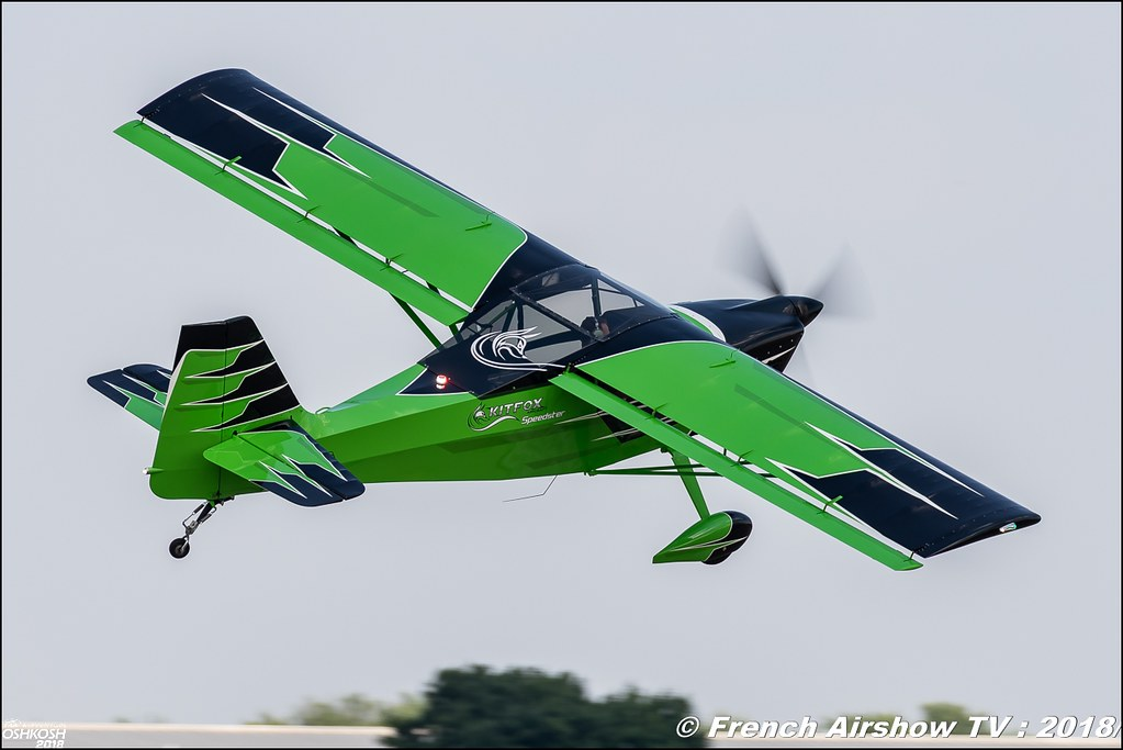 Kitfox S7 Speedster Kyle Franklin EAA AirVenture Oshkosh 2018 Wisconsin Canon Sigma France contemporary lens Meeting Aerien 2018