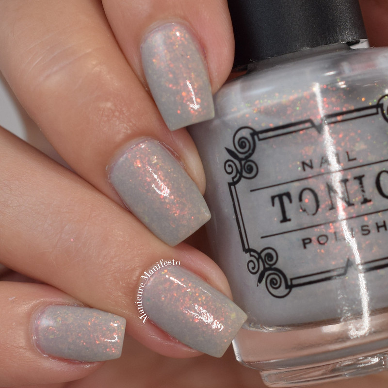 Tonic Polish Chasing Concrete swatch