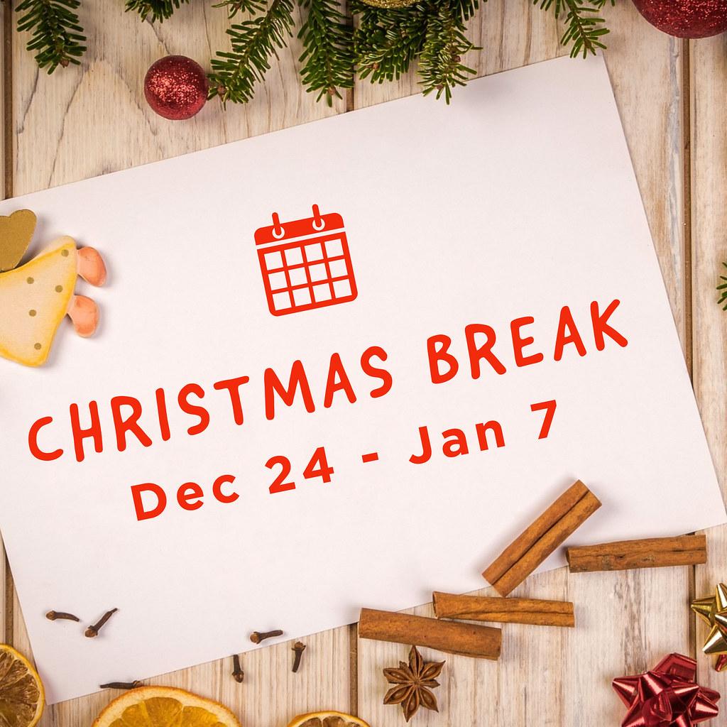 Christmas Break.Christ United Methodist Churchcdc Christmas Break Christ