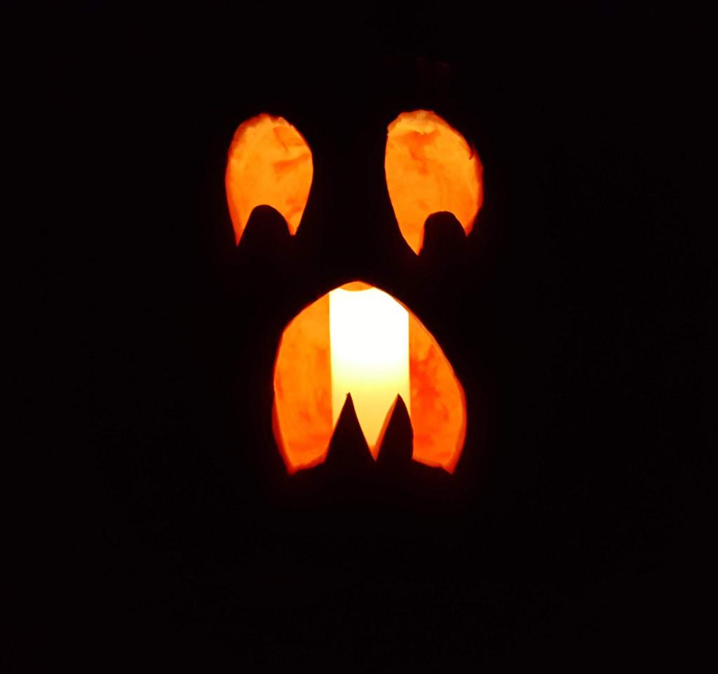 frightened jack-o-lantern 02 again | My frightened jack-o ...