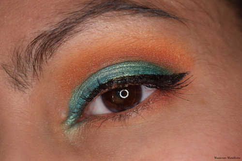 blue and orange EOTD