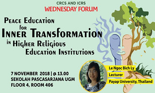 Peace Education for Inner Transformation in Higher Religious Education Institutions
