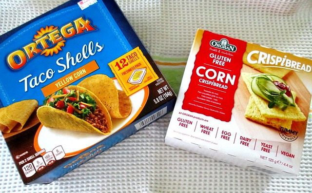 Corn bread & taco shells