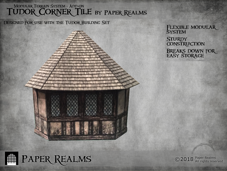 Tudor Corner Tile