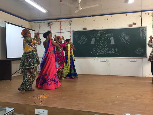 A dance being performed by participants from TSLU