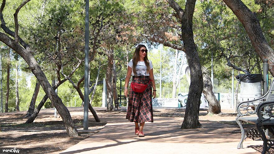 Falda de cuadros Escoceses, ¡mi nueva obsesión!