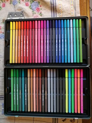 Craquages et coloriages
