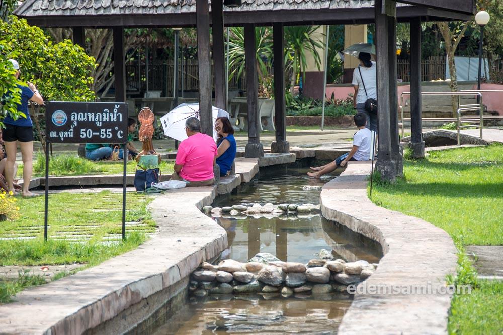 Горячие источники Санкампхэнг Чиангмай Таиланд