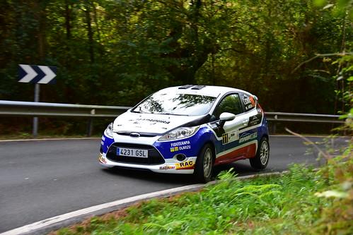 Victor Echave - Mikel Arza, Ford Fiesta R2, XXV Rallye de Gernika 2018