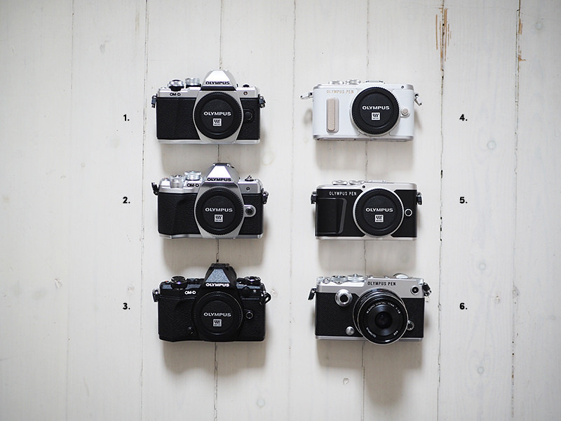 Olympus kamerat