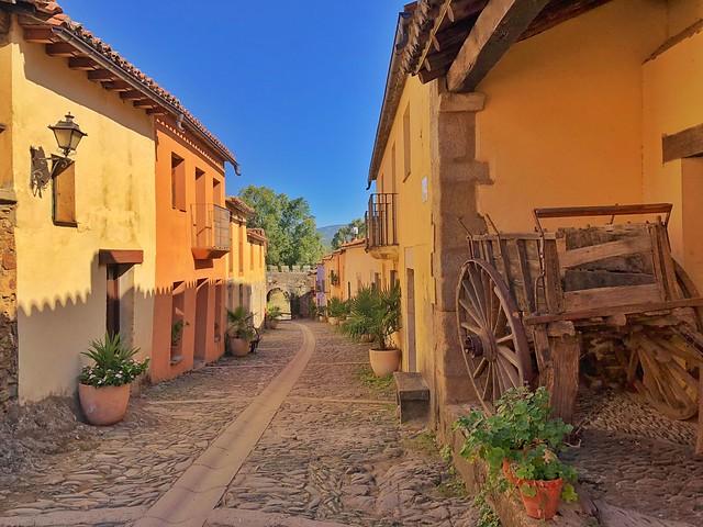 Calle Mayor de Granadilla (Qué ver en Tierras de Granadilla, Cáceres)
