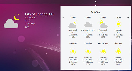 ubuntu-budgie-18.10-weather-applet